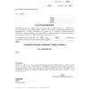 Wzór postanowienia w sprawie zastosowania oświetlenia elektrycznego (PIP)