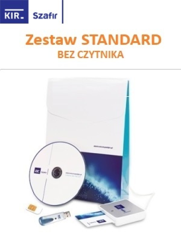Zestaw Certum Standard (bez czytnika)