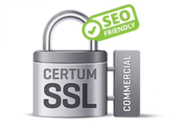 Certyfikat CERTUM Commercial SSL Wydanie