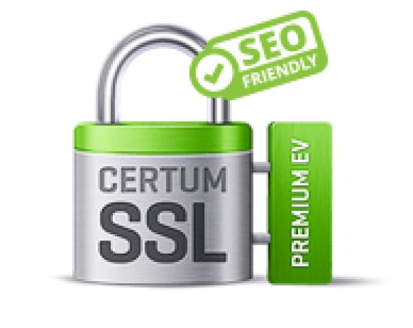 Certyfikat CERTUM Premium EV SSL Wydanie